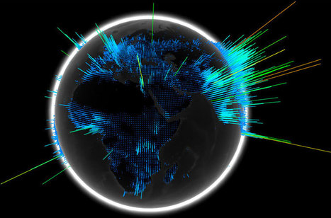 Chrome Experiments - WebGL Globe   Masada Geography   Scoop.it