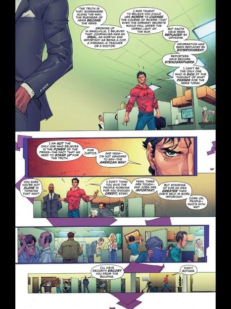 Crise de la presse : même Superman jette l'éponge - Blogs - Le Figaro   La presse écrite : un média en crise   Scoop.it