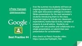 Google Classroom Best Practices (Slide Images) - PUBLIC | Web 2.0 for Education | Scoop.it