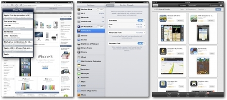 10 new iOS 6 features iPad users should know - GigaOM | Speech Therapy Apps | Scoop.it