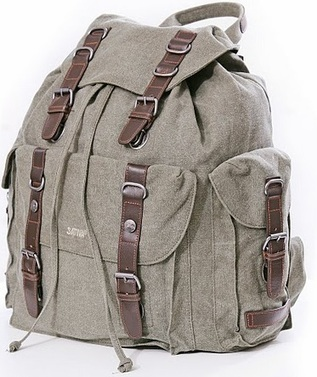 Deluxe Hemp Backpack - Khaki | Environment | Scoop.it