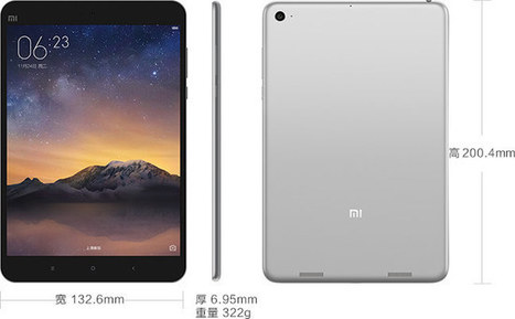 Xiaomi MiPad 2 Tablet Runs Android or Windows 10 on Intel Atom x5-Z8500 Processor for $156 and Up | Embedded Systems News | Scoop.it