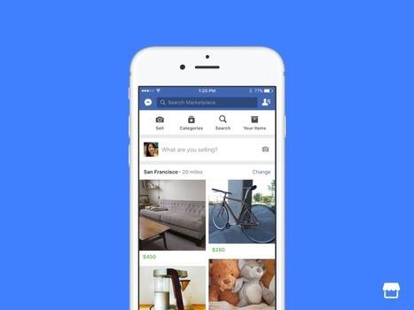 Facebook lance Marketplace, pour acheter et vendre des produits sur Facebook - Blog du Modérateur | playtheworld | Scoop.it