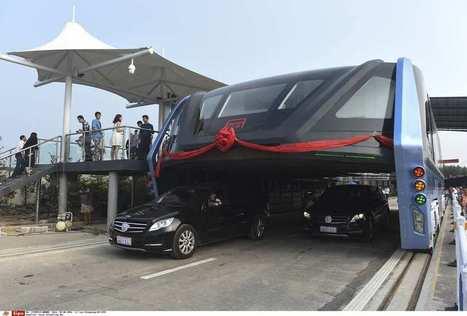 Chine : premier test grandeur nature pour le bus anti-bouchon | 694028 | Scoop.it