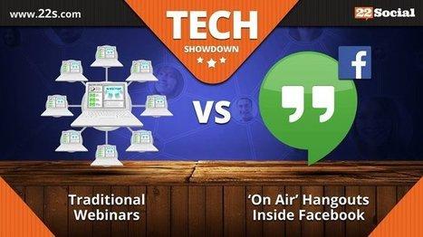 Online Meetings Made Easy - Webinars vs Hangouts Using 22Social | Online Business from Home | Scoop.it