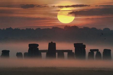 Lever de Soleil de solstice sur Stonehenge - Ciel des Hommes   Mégalithismes   Scoop.it