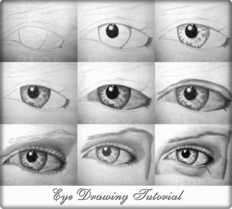 Eye drawing tutorial | startcrea. Recursos para el aula de Plástica | Scoop.it