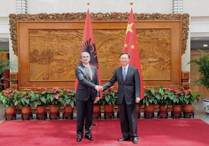 Le ministre des Affaires étrangères chinois appelle au renforcement ... - Radio Chine Internationale | Albanie | Scoop.it