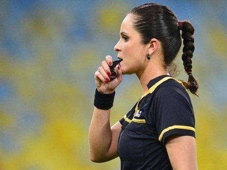 Ana Paula Oliveira, la árbitro más sexy del fútbol | Social Media and it's importance on Football | Scoop.it