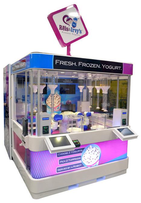 S'il vous plaît robot, un yaourt glacé ! | Actualités robots et humanoïdes | Scoop.it