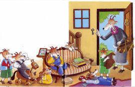 Le loup et les 7 cabris - exercices en ligne | FLE enfants | Scoop.it