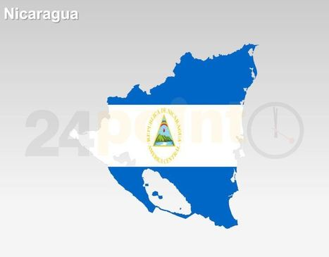 Nicaragua Flag Map for PowerPoint Presentation | PowerPoint Presentation Tools and Resources | Scoop.it