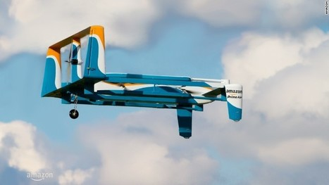 Amazon to test drone delivery in the UK | CLOVER ENTERPRISES ''THE ENTERTAINMENT OF CHOICE'' | Scoop.it