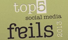 Digital Information World: 5 Biggest Social Media Fails In 2013 And Lesson Learned [INFOGRAPHIC]   Social Media, Communications and Creativity   Scoop.it