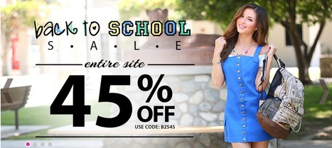 Back to School Sale at PinkBasis.com | Pink Basis Discounts & Giveaways | Scoop.it