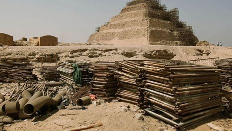 Egypt Says Restoration of Oldest Pyramid on Track - ABC News | Archaeology and the Bronze Age | Scoop.it
