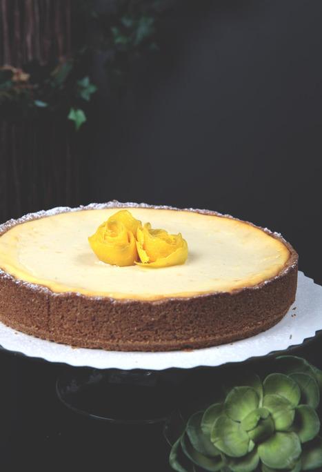 Iloleipuri - Vaniljainen sitruuna-rahkapiirakka | Ruoka | Scoop.it