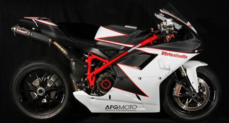 Carbon LifeForm Icon Tribute Ducati 1198   Ductalk Ducati News   Scoop.it