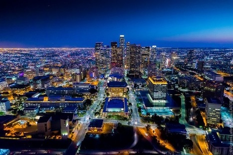 Brilliant Nighttime Photos of Los Angeles Shot from a Helicopter | Le It e Amo ✪ | Scoop.it
