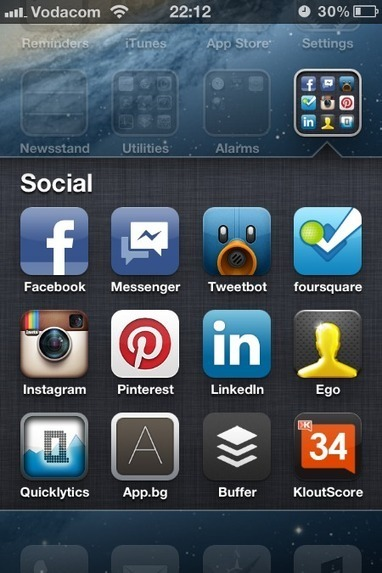 The Top Twelve Social Media Apps for iPhone | The 21st Century | Scoop.it