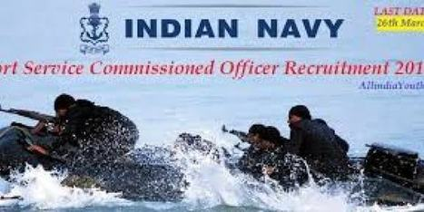 Short Service Commission Officers Post in Indian Navy | Education in India | Scoop.it