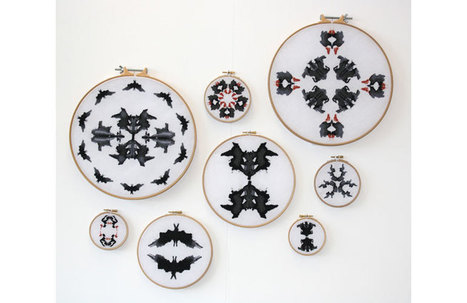 Céline Tuloup - Psychic circles | Art & Craft | Scoop.it