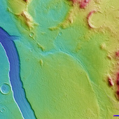 Scientists Discover Spectacular River on Mars | CLIL Content and language Integrated Learning | Scoop.it