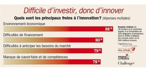 Les entreprises françaises en panne d'innovation   Entrepreneuriat   Scoop.it