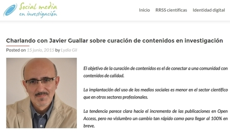 Sobre content curation e investigación | Los Content Curators | Gestió | Scoop.it