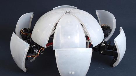 This Ingenius Robot Rolls, Unfolds, Then Scampers | Robots and Robotics | Scoop.it