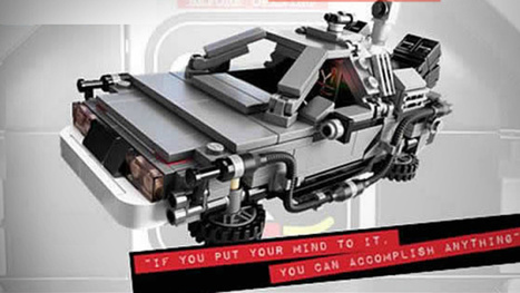 Behold the First Images of the Official Lego Back to the Future Set! | Digital Ketchup! | Scoop.it