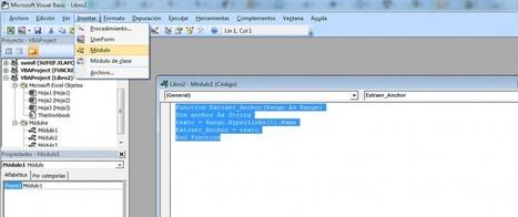 Macro Excel para extraer hipervínculos y anchor text   Eficiencia energetica   Scoop.it