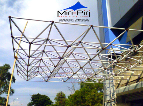 Space Frame Structures Manufacturers and Suppliers In Delhi   Awnings and Canopies Manufacturers India   Scoop.it