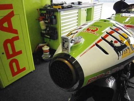Technology: Rear Rain Light In MotoGP | Eni Web Racing | Ductalk Ducati News | Scoop.it