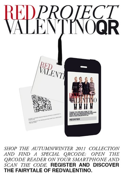 Fashion : QRcode project by REDValentino | QRdressCode | Scoop.it