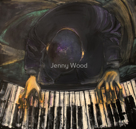 The piano man by Jenny Wood | My masterpieces | Scoop.it