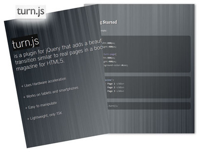 5 Free jQuery Page-Flip Plugins For Book-Like Interfaces | Recursos Web 5 | Scoop.it