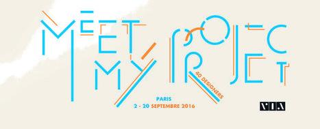 Exposition Meet My Project - 40 designers | via.fr | L'Etablisienne, un atelier pour créer, fabriquer, rénover, personnaliser... | Scoop.it