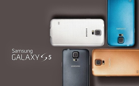 Samsung Unpacked Galaxy S5 - Bigger, Better, Faster with more pixels and refined design at MWC 2014 | Mobile Technology | Scoop.it