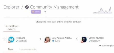 Klout crée des badges experts et se met au français | Internet world | Scoop.it