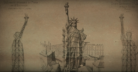 La statue de la Liberté, 130 ans d'histoire | Arts et FLE | Scoop.it