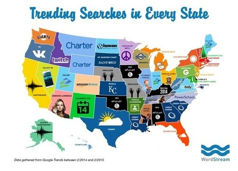 Search Trends by State: Top Trending Searches in All 50 States | Content Strategy |Brand Development |Organic SEO | Scoop.it