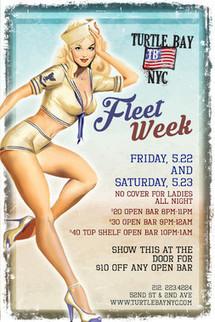 Fleet Week Events | Turtle Bay NYC | Best Bars Midtown NYC | Scoop.it