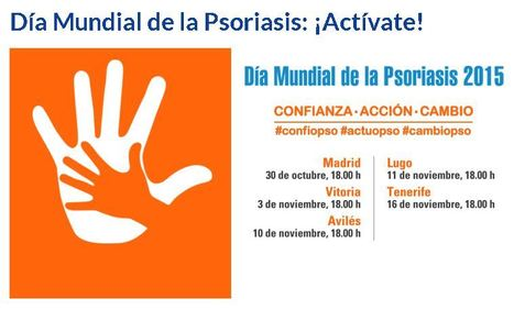 Día Mundial de la Psoriasis: ¡Actívate! | eSalud Social Media | Scoop.it