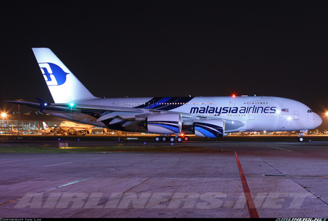 Photos: Malysia Airlines on its inaugural flight with Airbus A380-841 | Allplane: Airlines Strategy & Marketing | Scoop.it