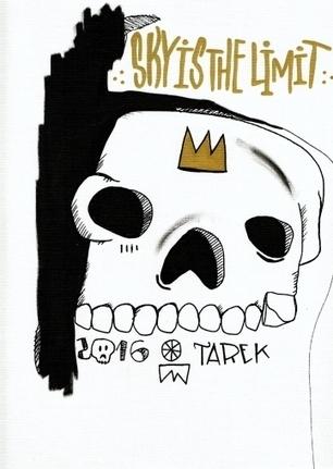 Tarek   Sky Is - Artsper   The art of Tarek   Scoop.it
