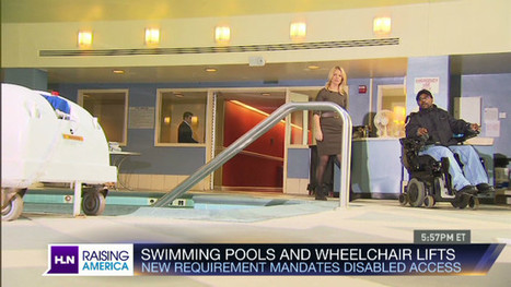 Americans with Disabilities Act opens pools to disabled swimmers | Sports Facility Management - 4353386 | Scoop.it