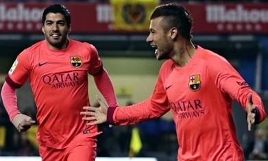 VilaReal 1-3 Barça: Barça reach Copa del Rey final as Neymar double sinks VilaReal - The Guardian   AC Affairs   Scoop.it