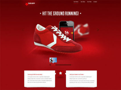 Creative Free PSD Website Templates | Web design and software backyard | Scoop.it