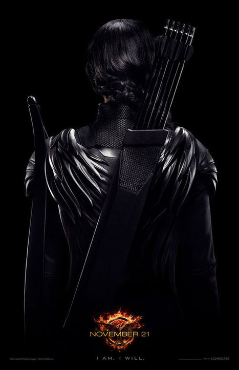 Poster: Hunger Games Rebel Warrior Teaser - Business 2 Community | Hunger Games in the Library (and other classrooms) | Scoop.it